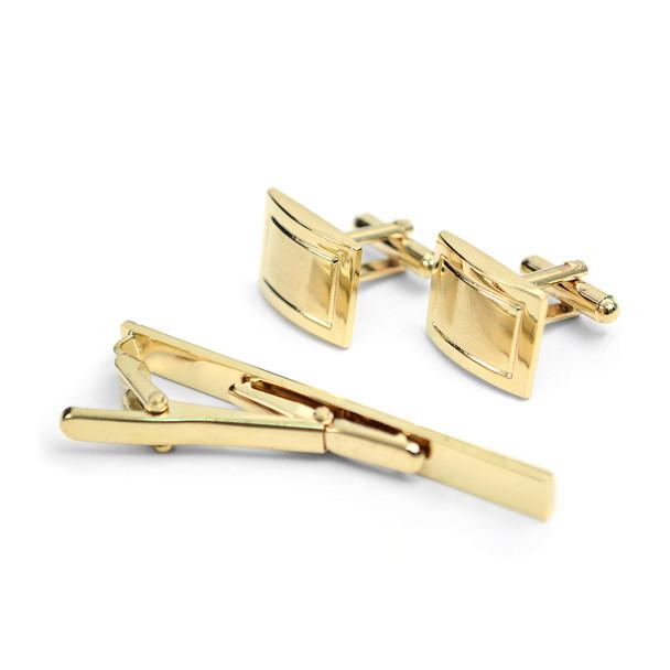 Cufflink and Tie Bar Set CTB2546