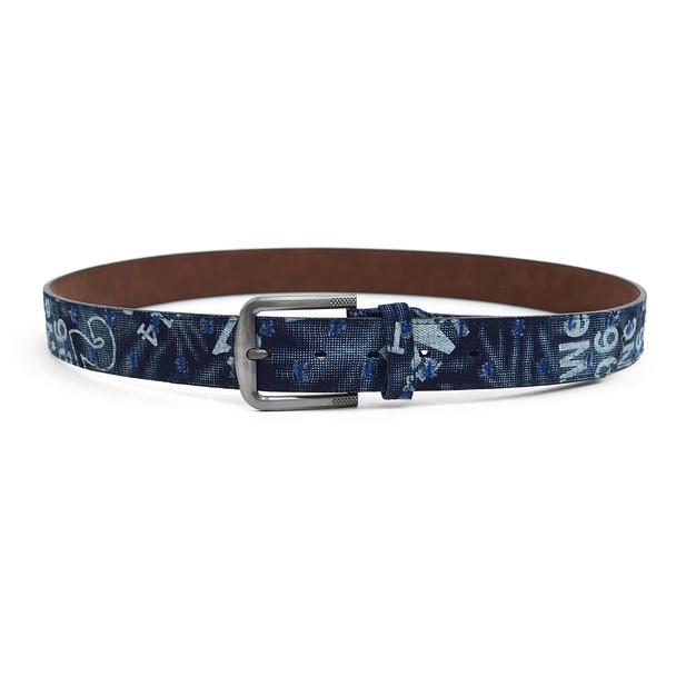 12pc Twin-Pack Assorted Men's Jean Washed Denim Belts MJB1702