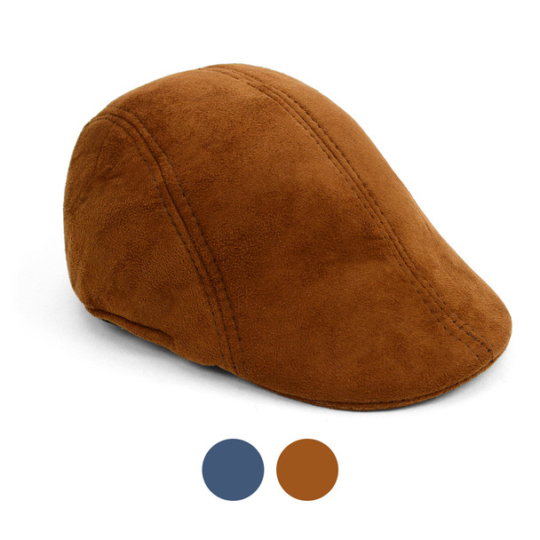 Fall/Winter Faux Suede Ivy Hat - IFW1732