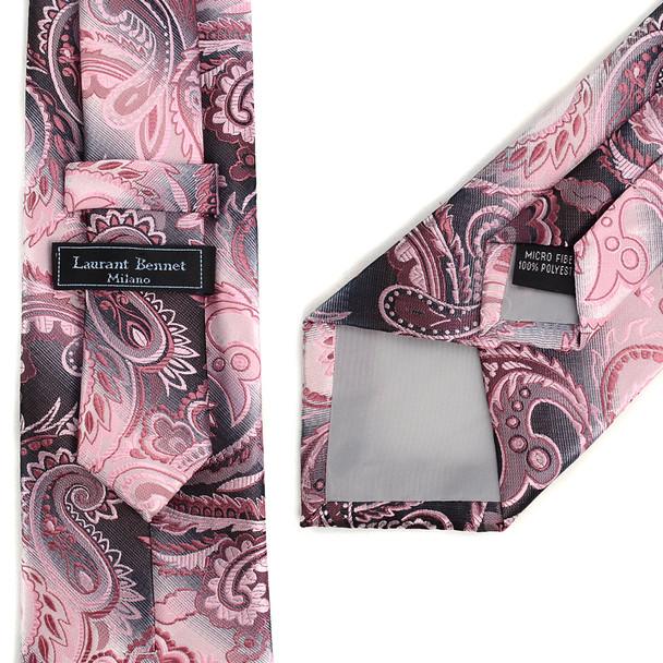 Paisley Tie & Matching Pocket Round Set MPWTH170633