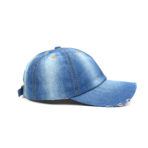 Blank or Patched Denim Baseball Cap JCAP