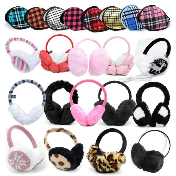 120pc Assorted Prepack Ear Muffs EM120ASST-CO