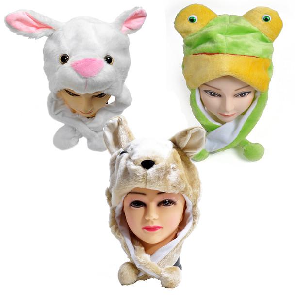120pc Assorted Animal Hats HATC120ASST-CO