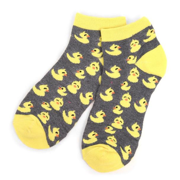 Assorted Pack (6 pairs) Women's Ducky Novelty Low Cut Socks EBA-687