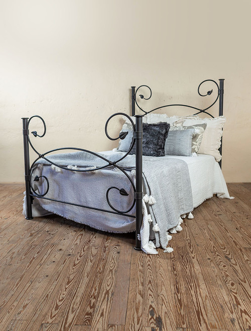 Evening Shade Wrought Iron Bed