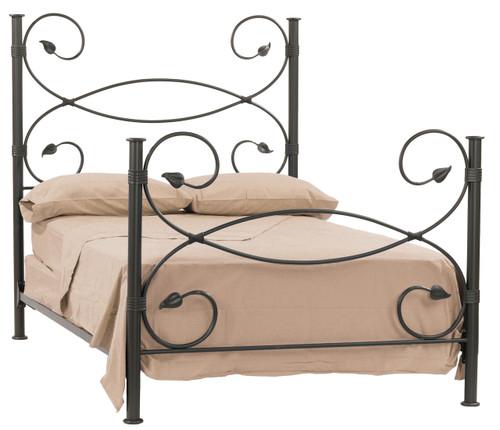 Evening Shade Iron Cal-King Bed