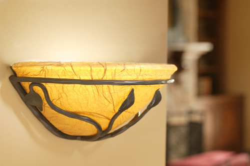 Evening Shade Iron Wall Sconce