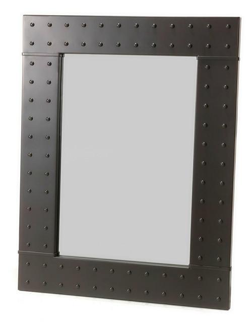 Freeman Rivet Iron Wall Mirror
