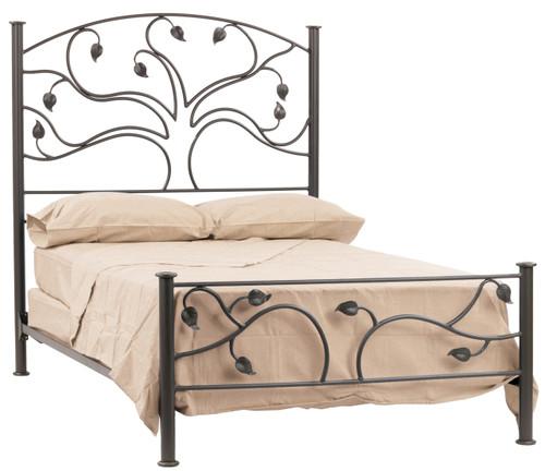 Oak Grove Iron King Bed