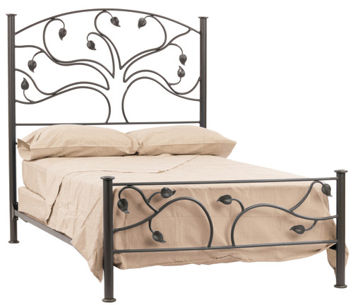 Oak Grove Wrought Iron Bed