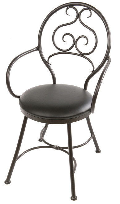 Fairfield Iron Arm Chair