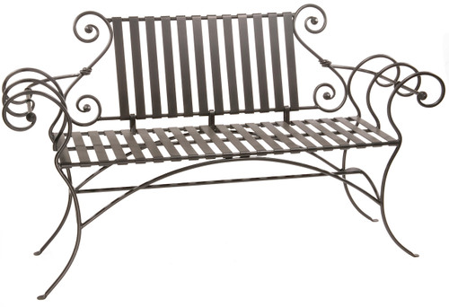 Magnolia Iron Bench 63 inch