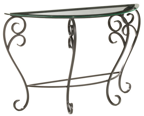 Whispering Springs Iron Console Table
