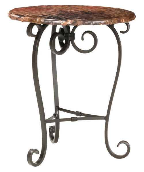 Whispering Springs Iron Occasional Table