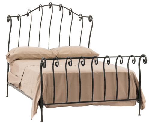 Whispering Springs Iron Sleigh Full Bed