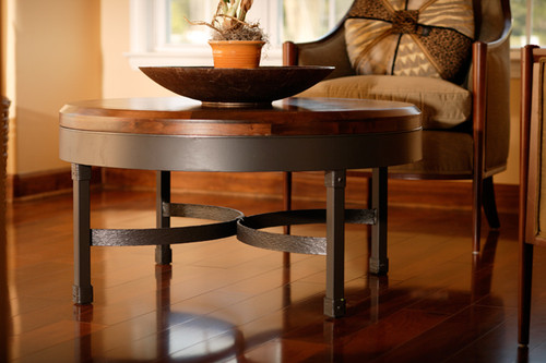 Huntington Iron Coffee Table 36 inch