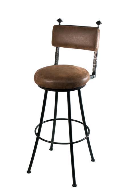 Blackwell Iron Round Bar Stool