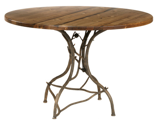 Evergreen Iron Breakfast Table