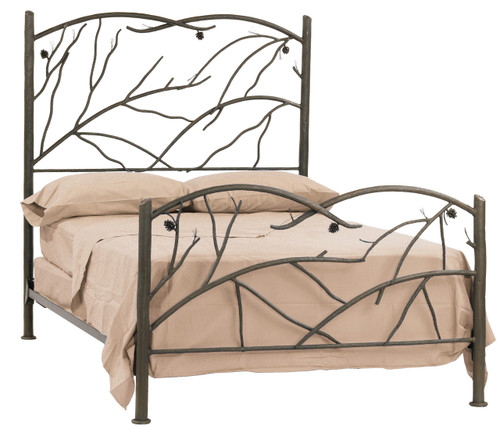 Evergreen Cal King Iron Bed