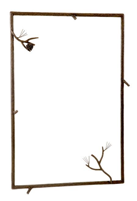Evergreen Iron Wall Mirror