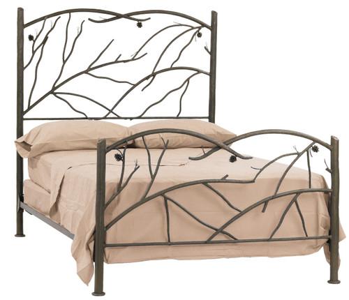 Evergreen Twin Iron Bed