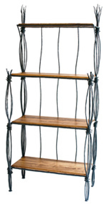 Black River Iron Bakers Rack 4 Tier