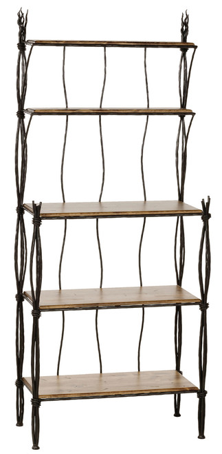 Black River Iron Bakers Rack 5 Tier