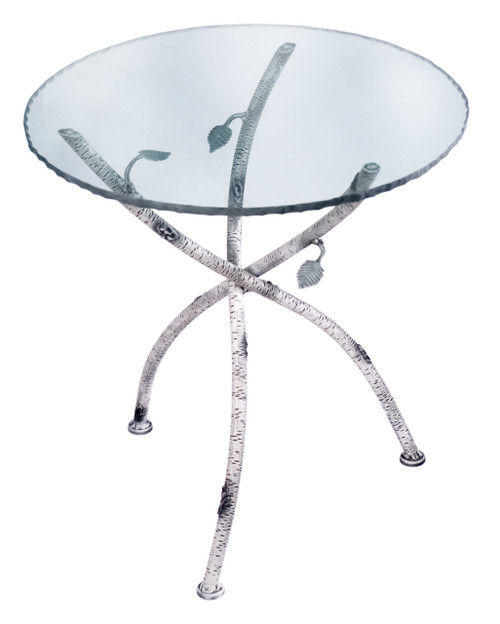 Marked Tree Iron Accent Table