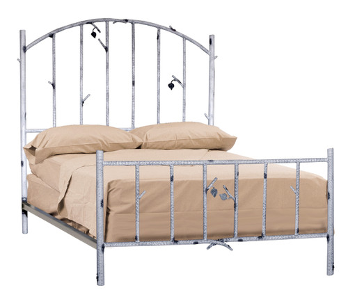 Marked Tree King Iron Bed
