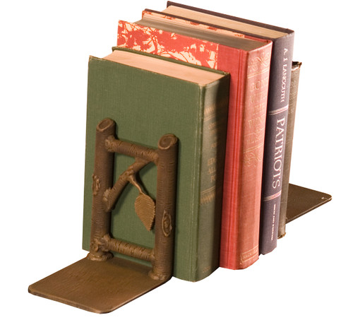 Marked Tree Iron Book Ends