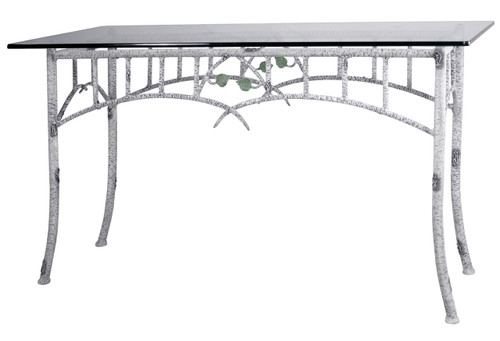 Marked Tree Iron Console or Sofa Table