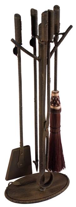 Marked Tree Iron Fire Tool Set (4 Tools)