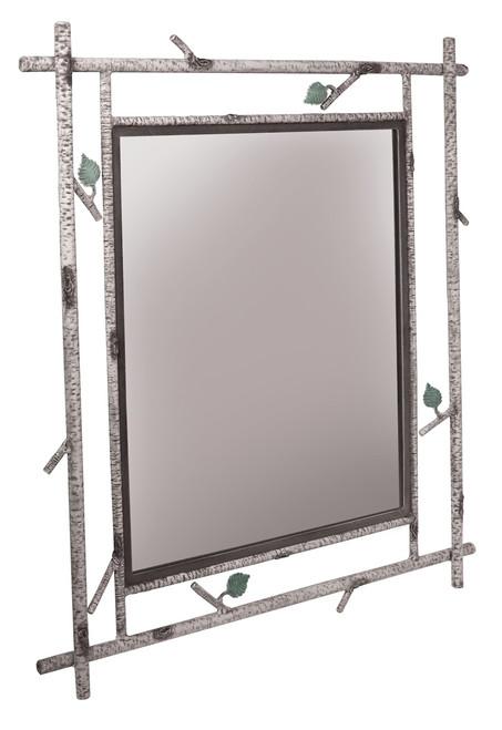 Marked Tree Iron Wall Mirror