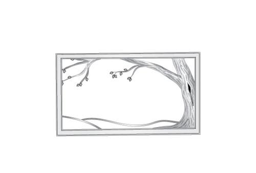 Custom Tree Fire Screen