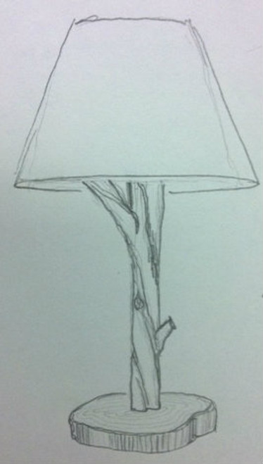 Custom Branch Lamp