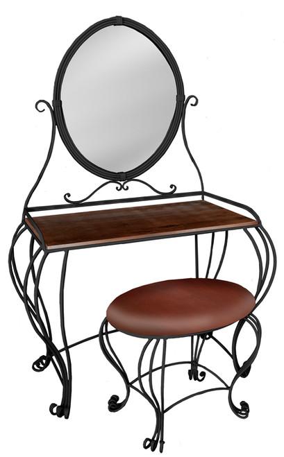 Edgemont Iron Vanity