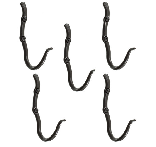 Black River Single Hook- 5 Piece Set