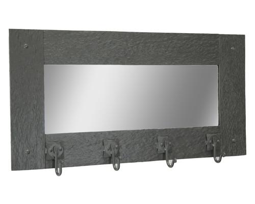 Huntington Wall Mirror Coat Rack