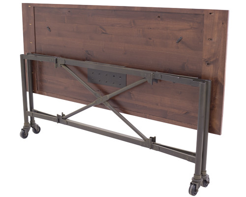 Railcar Folding Banquet Table