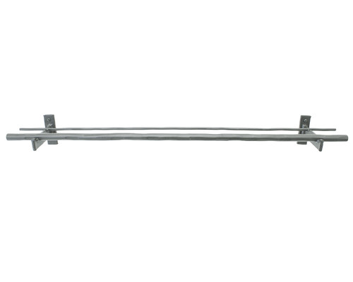 Big Spring Iron Double Towel Bar 24""