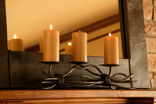 Black River Triple Candle holder