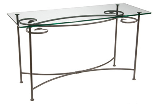 Base Only Evening Shade Console - Iron Sofa Table