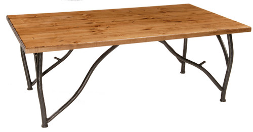 Base Only Greenwood Iron Coffee Cocktail Table