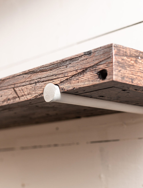 The 201 Shelf with Round Forged Brackets