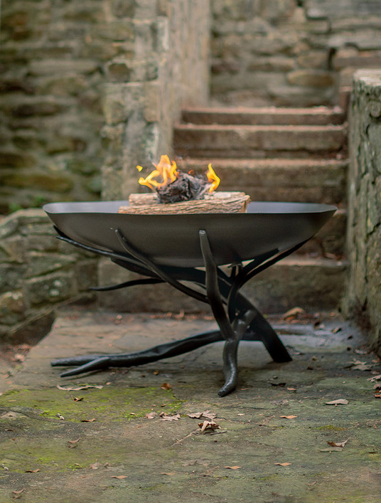 Driftwood Hand-Forged Fire Pit