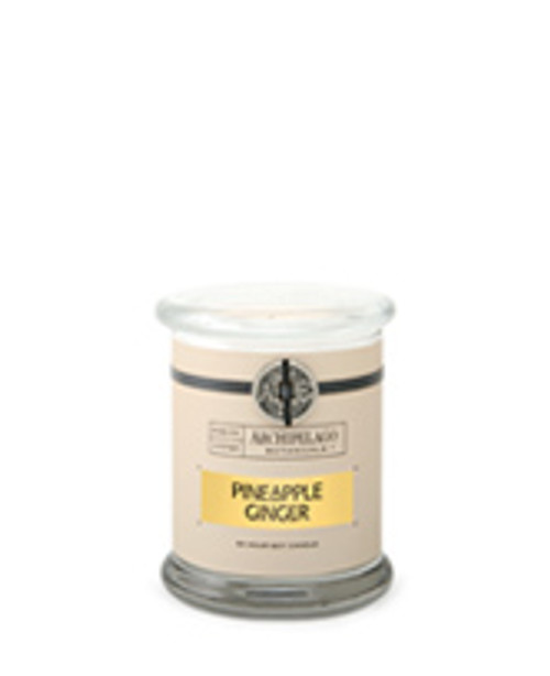 Archipelago Signature Collection Pineapple Ginger Glass Jar Candle