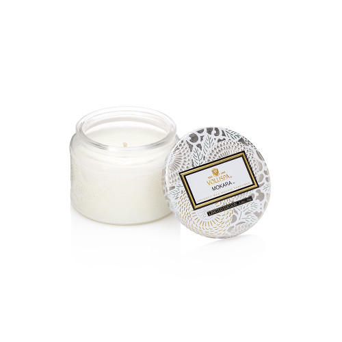 Voluspa Japonica Collection Mokara Limited Edition Small Glass Jar Candle