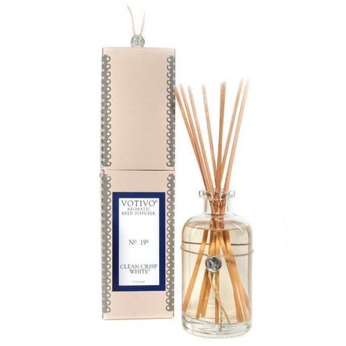 Votivo Aromatic Collection Clean Crisp White Reed Diffuser
