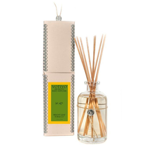 Votivo Aromatic Collection Bright Leaf Tobacco Reed Diffuser