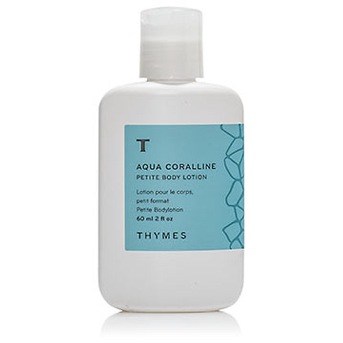 Thymes Aqua Coralline Collection Petite Body Lotion